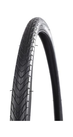 """Michelin Protek Fahrradreifen 28"""" Draht weiß"""